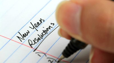 stock-footage-new-years-resolution-list