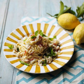 Fall Recipe: Lemon Crab Linguine | Marquette University Employee ...